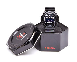 Casio G-Shock Classic Limited Edition Metallic Mirror Dial Blk/Silver DW6900NB-1