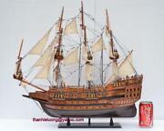 Wooden Model Sailing Ships
