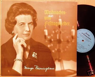 LP Marga Reininghaus Weihnacht + Festtagslieder Private