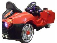 KIDS RIDE ON TOY CAR 12V FERRARI STYLE CAR