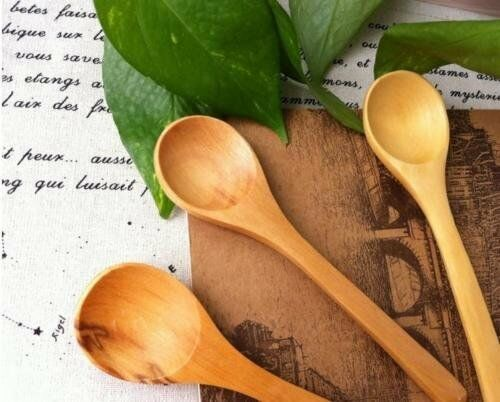 Small wooden spoon for Babies or Honey all natural organic h