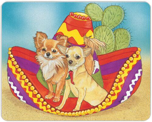 Chihuahua Large Cutting Board
