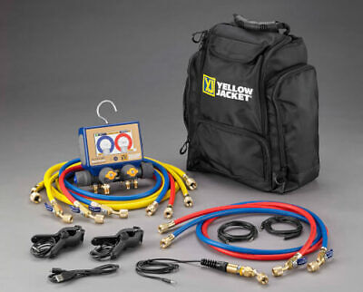 Yellow Jacket 40875 P51-870 Titan Digital Manifold Mini-split Kit