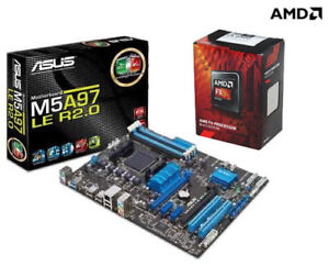 AMD FX 6300 4.1Ghz 6Core & ASUS M5A97 R2.0 AM3+ MoBo COMBO [OBO]
