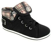 Girls High Tops Size 1