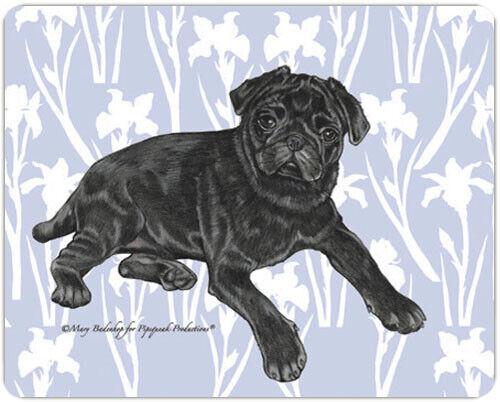 Pug Black Pug Dog Small Cutting Board