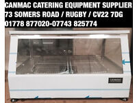 ELECTRIC COUNTERTOP FOOD PIE CHICKEN HEATED HOT WARMER CABINET SHOWCASE DISPLAY