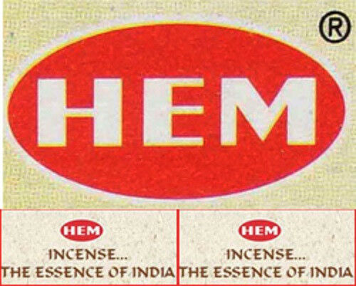 Hem Incense: Pack of 20 Sticks. CRAZY SALE OFFER - BUY 4 GET 3 FREE!