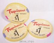Tropicana $1 Casino Chip