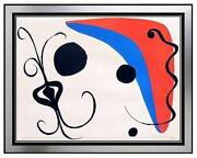 Calder Lithograph Signed