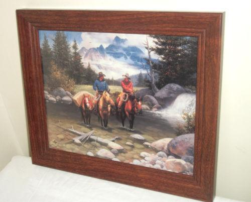 home interior cowboy pictures home interior cowboy pictures ebay 18223