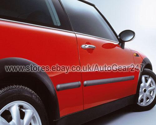 E Tech Black Car Door Body Bumper Guard Protective Rubber