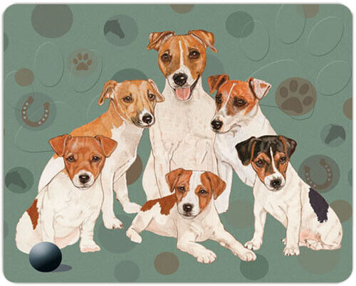 Jack Russell Large Cutting Board