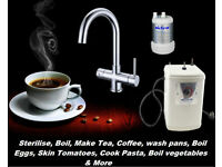 Instant Boiling Water 3 In 1 Hot/Cold Tap 2.3L LATEST MODEL - Chrome child lock