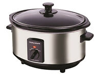 Stainless Steel Slow Cooker 6.5L