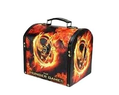 The Hunger Games Burning Mockingjay Vintage Style Carrying Case New