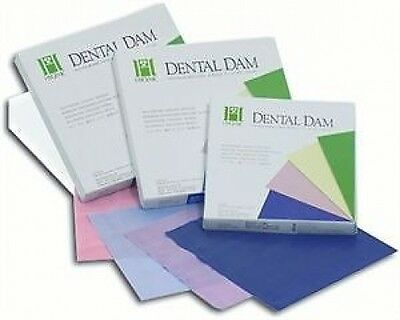 Dental Rubber Dam  6 X 6 Non Latex By Hygenic