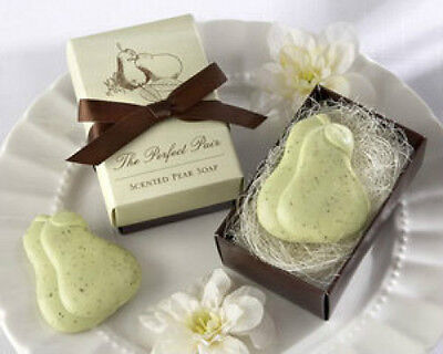 Perfect Pair Scented Pear Soap Bridal Shower Wedding Favor - Pear Wedding Favor