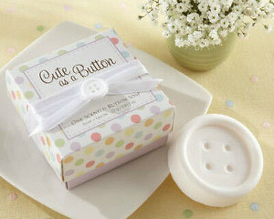 Cute as a Button Scented Button Soap Baby Shower