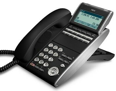 Nec Itl-12d-1bktel Ilvxdz-ybk 690002 Ip Phone Black Refurb 1 Year Warranty