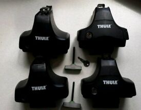 Thule fitting kit 1708 and 754 system for roof bars Audi A3