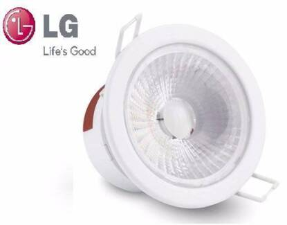 LG Brand LED 9.5W Dimmable Downlights - Authentic - Warm White