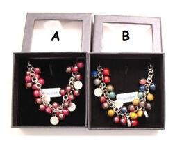 Coloured beaded bracelet GIFT BOXED - JTY353