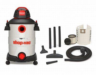 Steel Shop Vacuum (Shop-Vac 12 Gallon 6 Peak HP Stainless Steel Wet/Dry Vacuum with Blower, NEW!)