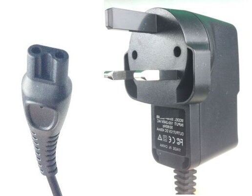 3 Pin UK Charger Power Lead For Philips Shaver HQ7745