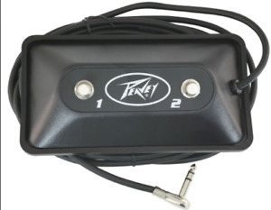 Wanted: Peavey guitar amp 2 switch pedal