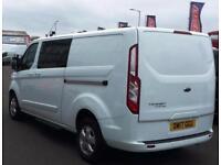 2017 Ford Transit Custom 2.0 TDCi 130ps Low Roof D/Cab Limited Van Diesel