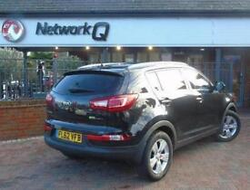 2012 Kia Sportage 1.7 CRDi ISG 2 5 door Diesel Estate