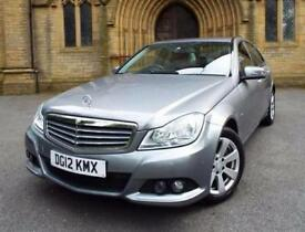2012 Mercedes C-Class C220 CDI BlueEFFICIENCY SE 4 door Diesel Saloon
