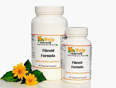 Fibroid  Formula 100 Capsules Get Rid Of Uterine Fibroids Naturally