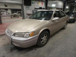 1998 Toyota Camry, 4 cylinder, clean status, low km, AS IS
