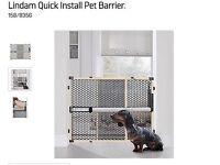 Pet barrier