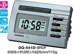 CASIO CLOCK DQ541 DQ-541D-8RD ALARM LED LIGHT 12 MONTH WARRANTY