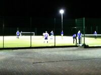 Play 7 a-side football regularly every Tuesday from 7.30pmuntil 9.30pm Oakington, Cambridge