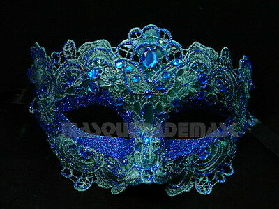 Lace Masquerade Ball Mask Birthday Burlesque School  Dance Prom Birthday Party