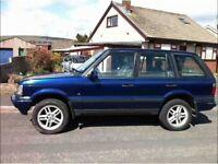P38 Range Rover diesel auto 12 months mot