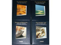 Time Life History of the World set of books