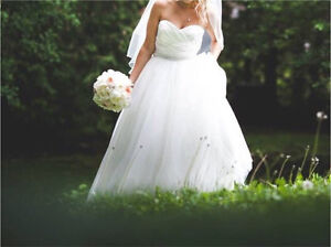 Alfred sung wedding gown/dress