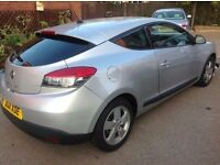 Renault Megane Coupe 2011 1.6 Dynamique TomTom (Long MOT) & Low Mileage