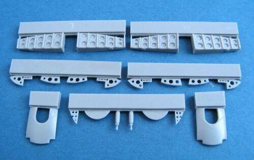 Pavla U72158 1/72 Resin Blenheim Mk.IF undercarriage wheel bays details AIRFIX