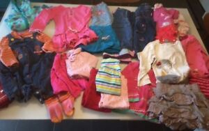 Lot de vêtements pour fillette, 6-24 mois