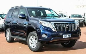 2014 Toyota Landcruiser Prado KDJ150R MY14 GXL Blue 5 Speed Sports Automatic Wagon Westminster Stirling Area Preview