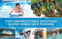 Universal Orlando Resort for a exclusive vacation package