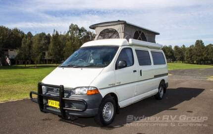 U2848 Frontline 2 Berth Toyota Camper, Low Km's, Versatile Camper Penrith Penrith Area Preview