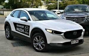 2019 Mazda CX-30 G20 Evolve White 6 Speed Automatic Wagon Beaudesert Ipswich South Preview