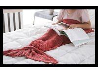 PINK Mermaid Blanket